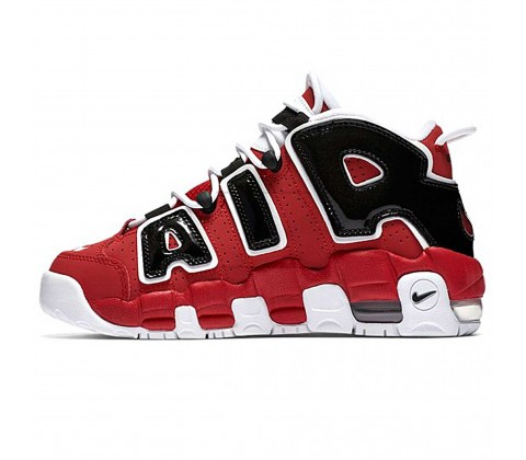 Кроссовки Nike Air More Uptempo Red/Black