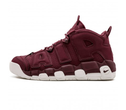 Кроссовки Nike Air More Uptempo «Night Maroon» Purple/White