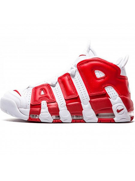 Кроссовки Nike Air More Uptempo Red/White