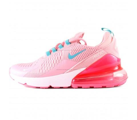 Кроссовки Nike Air Max 270 Pink/White/Blue