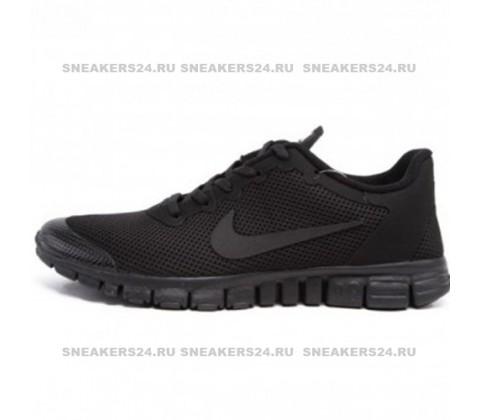Кроссовки Nike Free Run 3.0 V2 Triple Black