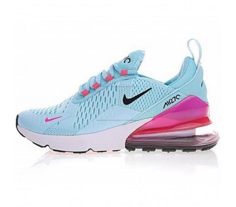 Кроссовки Nike Air Max 270 Blue/Pink/Black/White