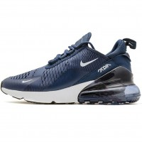 Кроссовки Nike Air Max 270 Navy Blue/White