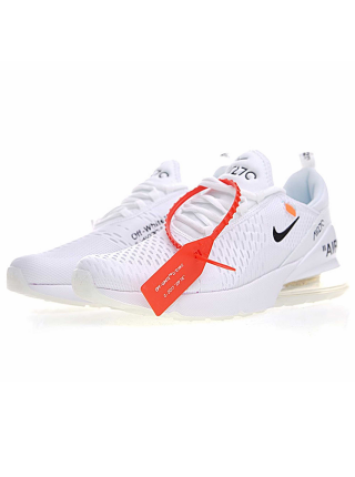 Кроссовки OFF White  x Nike Air Max 270 White