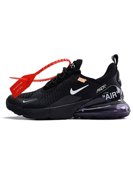 Кроссовки OFF White x Nike Air Max 270 Black