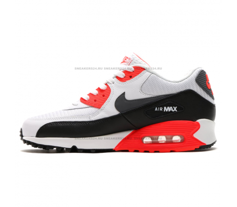 Кроссовки Nike Air Max 90 Essential Grey/Black/Red