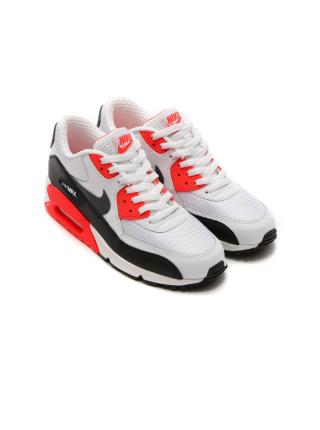 Кроссовки Nike Air Max 90 Essential Grey/Black/Red