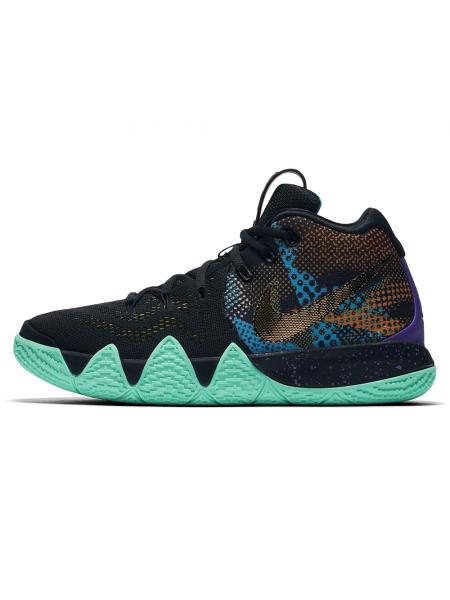 Кроссовки Nike Kyrie 4 Mamba Mentality Black/Green