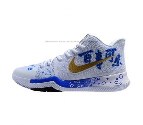 Кроссовки Nike Kyrie 3 Coca-Cola White/Blue/Red