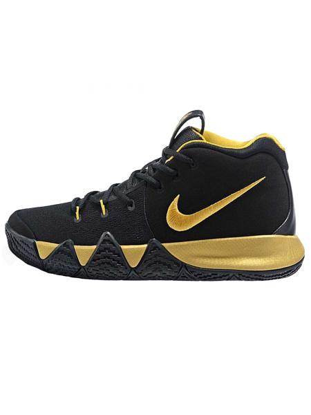 Кроссовки Nike Kyrie 4 Black/Gold