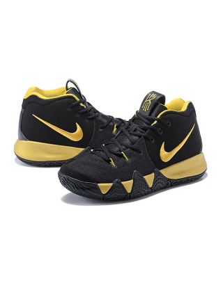 Кроссовки Nike Kyrie 4 Black/Gold