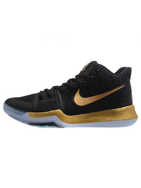 Кроссовки Nike Kyrie 3 Black/Golden