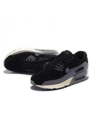 Кроссовки Nike Air Max 90 LTHR  Black
