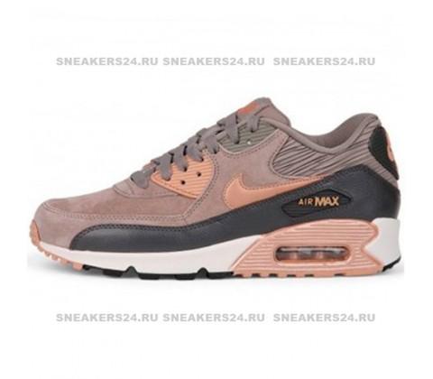 Кроссовки Nike Air Max 90 LTHR  Bronze
