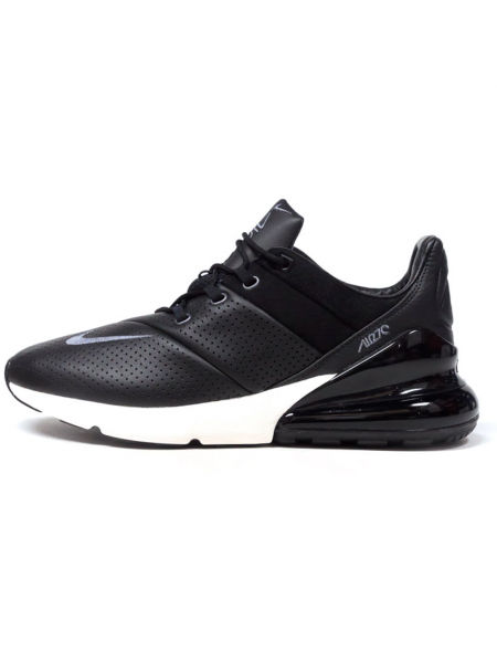 Кроссовки Nike Air Max 270 Premium Leather Black/White