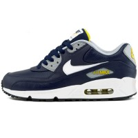 Кроссовки Nike Air Max 90 Premium Blue/Yellow