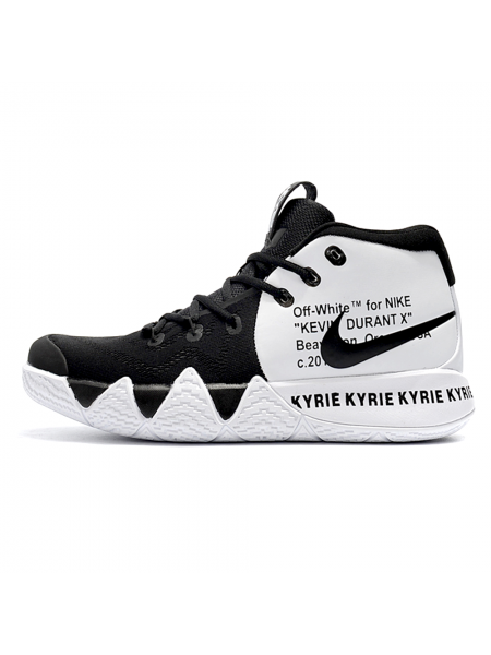 Кроссовки Nike Kyrie 4 x Off White Black/White