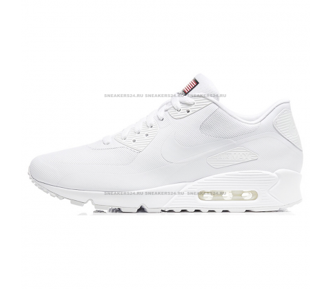 Кроссовки Nike Air Max 90 HyperFuse Independence Day 2013 White