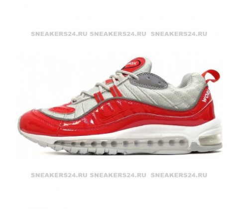 Кроссовки Nike Air Max 98 Red/Grey