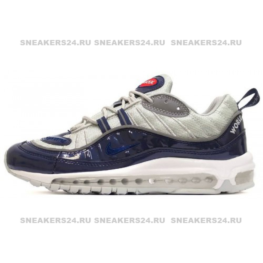 b3dff32d Кроссовки Nike Air Max 98 Dk Blue/Grey