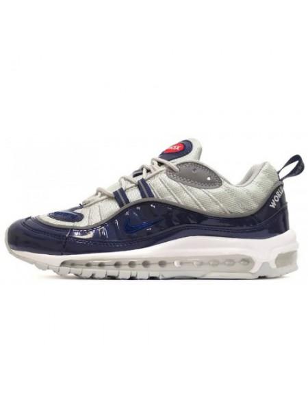 Кроссовки Nike Air Max 98 Dk Blue/Grey