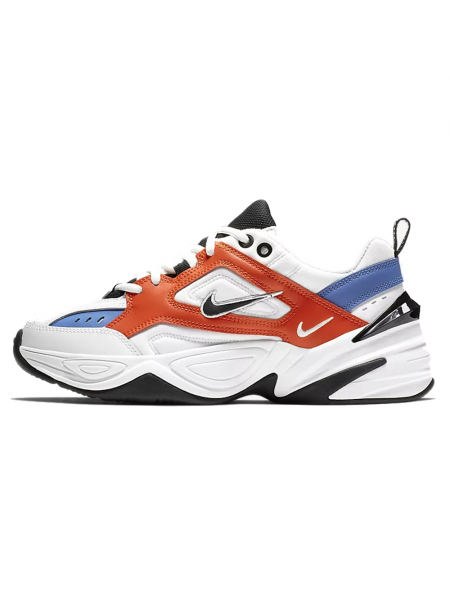 Кроссовки Nike M2K Tekno 'John Elliott' White/Orange/Blue