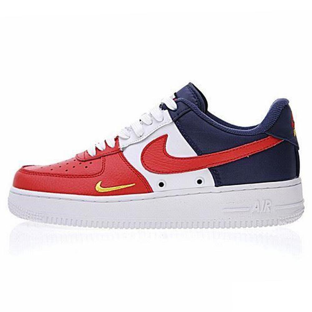 17e0e7ac Кроссовки Nike Air Force 1 Low Obsidian/White-University Red