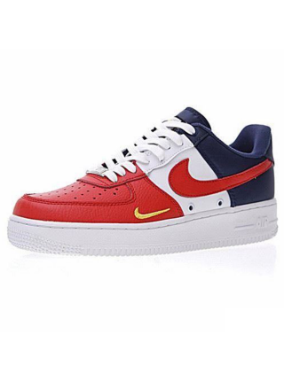 Кроссовки Nike Air Force 1 Low Obsidian/White-University Red
