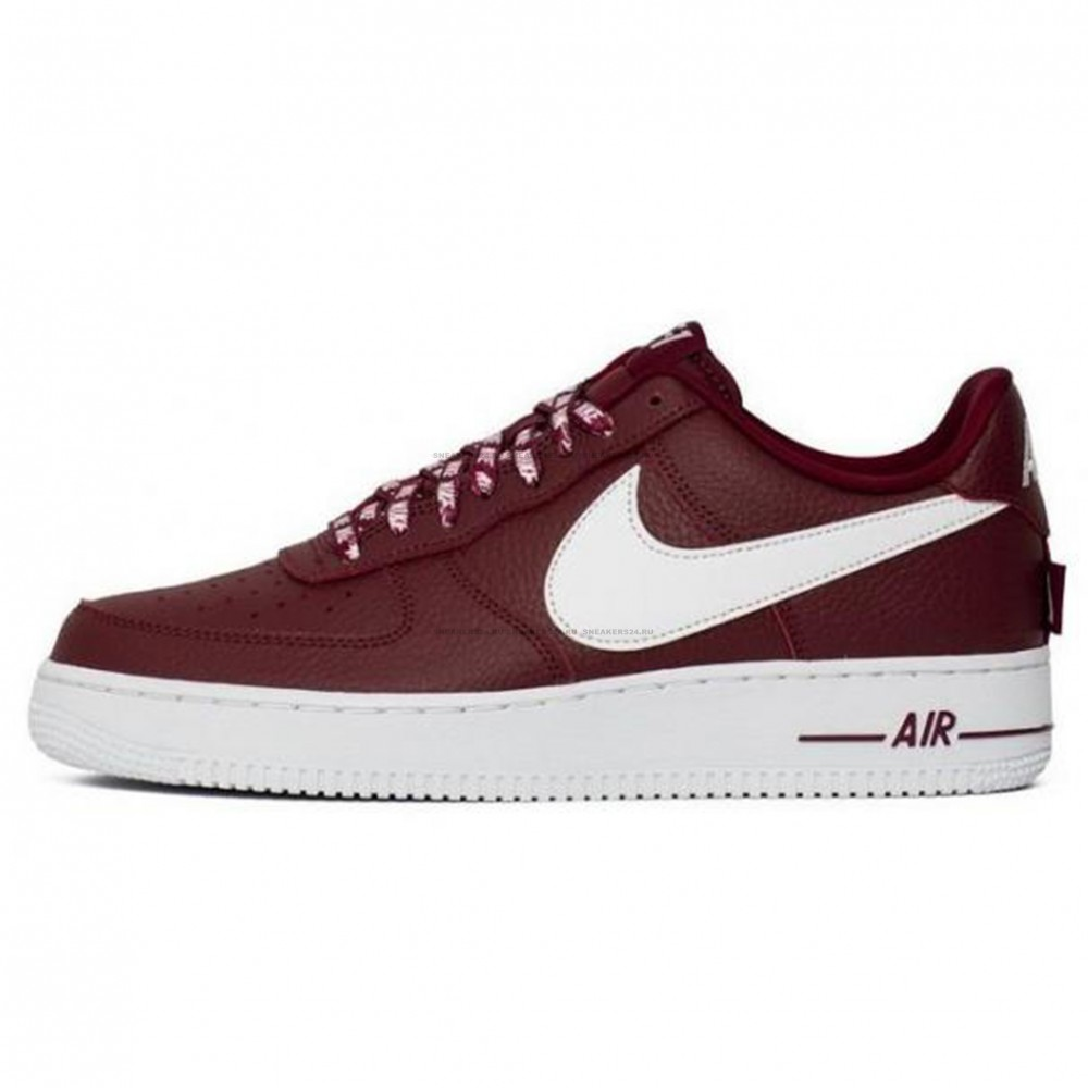 1f005a19 Кроссовки Nike Air Force 1 LV8 NBA Team Red/White