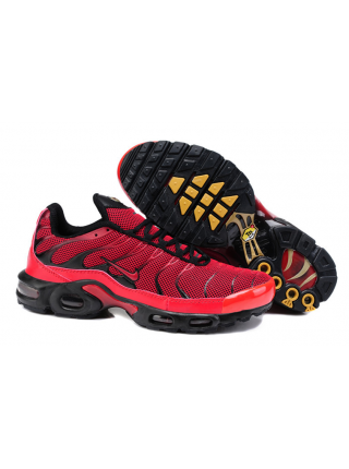 Кроссовки Nike Air Max Plus (TN) All Black/Red