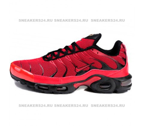 Кроссовки Nike Air Max Plus (TN) All Black/Red