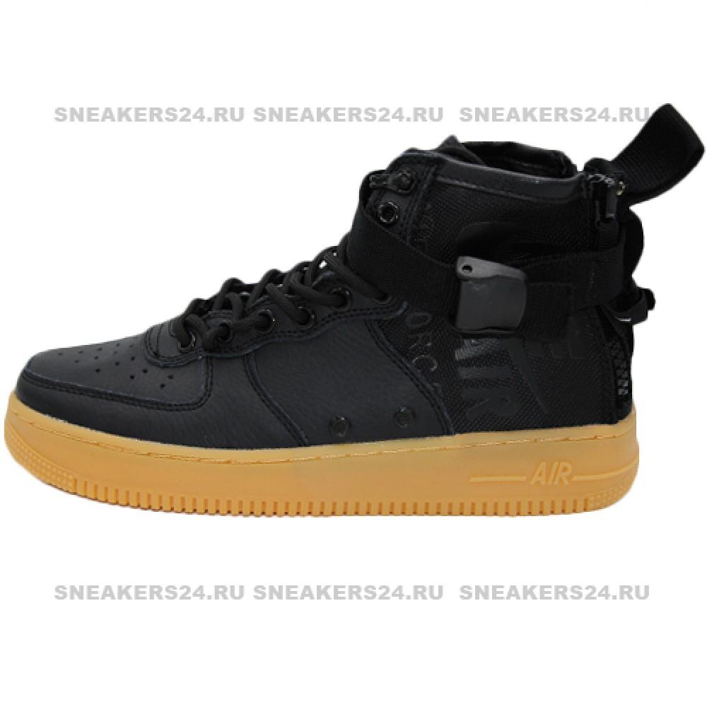 d8048322 Кроссовки Nike SF Air Force 1 Mid Colorways Black