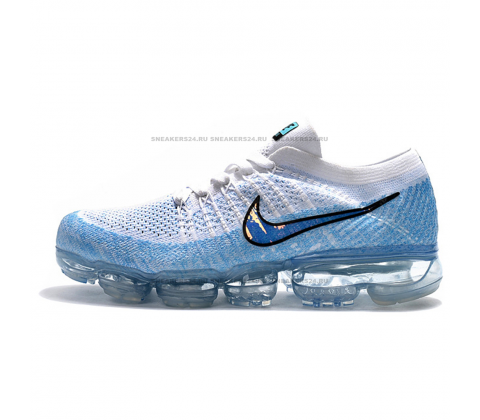 Кроссовки Nike Air VaporMax Explorer Light White/Hydrogen Golden/Blue