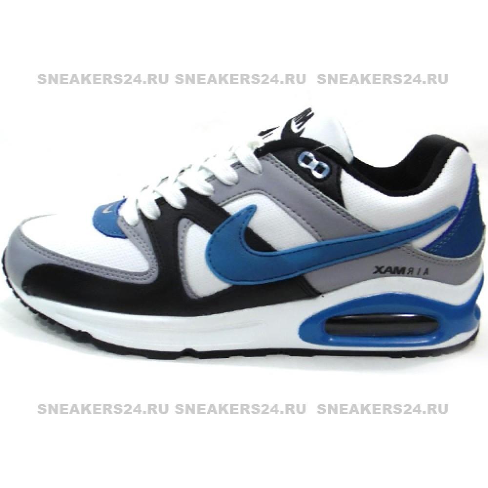 énorme réduction 4c42a a10c4 Кроссовки Nike Air Max Skyline Command White/Blue