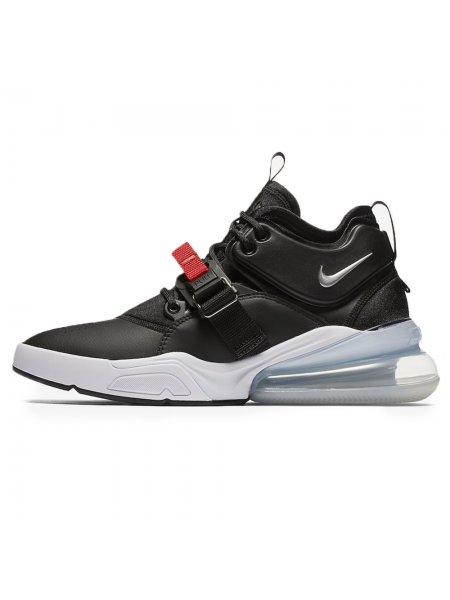 Кроссовки Nike Air Force 270 Black Metallic Silver