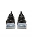 Кроссовки Nike Air Force 270 Black Metallic Silver