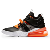 Кроссовки Nike Air Force 270 Safari Black/Orange