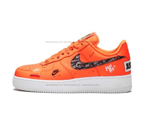 Кроссовки Nike Air Force 1'07 Orange