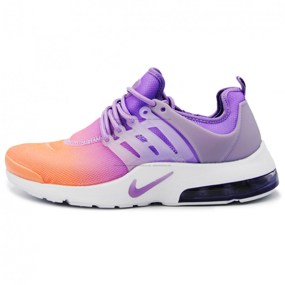 03ab5109 Кроссовки Nike Air Presto Purple/Orange