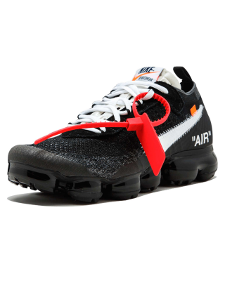 Кроссовки Nike Air Vapormax x Off White Fk Black White Clear