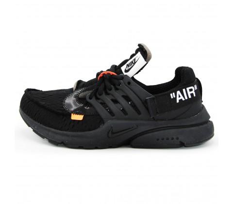Кроссовки Nike Air Presto X Off White Black
