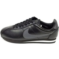 Кроссовки Nike Cortez New Collection All Black/Gray