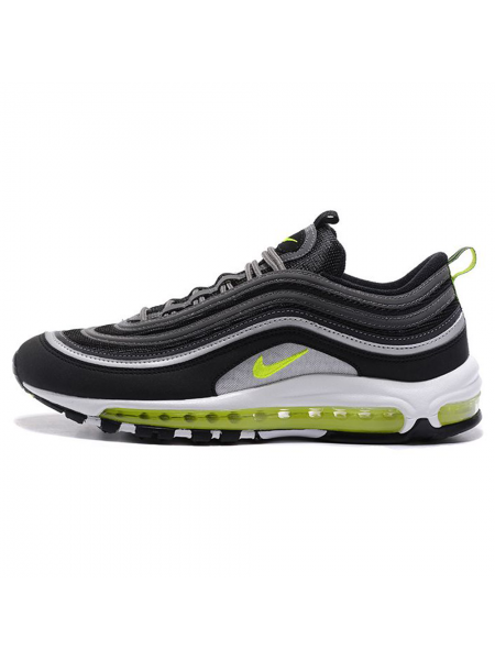 Кроссовки Nike Air 97 Black Volt/Metallic Silver/White