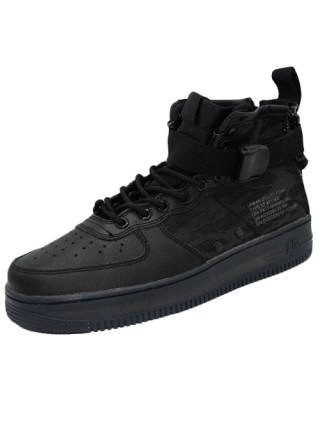 Кроссовки  Nike SF-AF1 Mid Black Tiger Camo