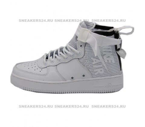 Кроссовки  Nike SF-AF1 Mid Top White