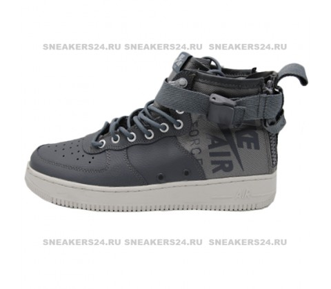 Кроссовки Nike SF-AF1 Mid Top Grey