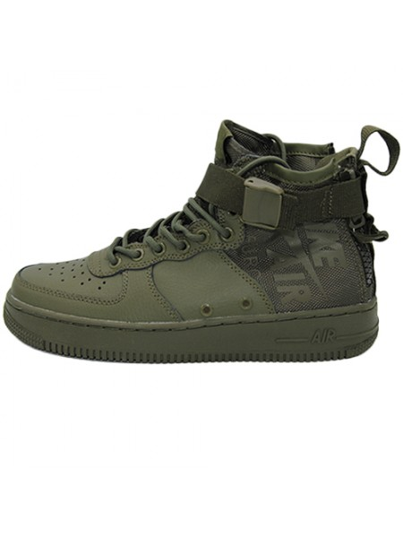 Кроссовки Nike SF-AF1 Mid Top Green