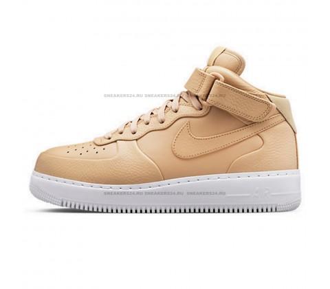 Кроссовки Nike Air Force 1 Mid '07 Beige