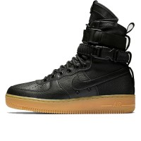 Кроссовки Nike SF AF1 Special Field Air Force 1 Black/Black-Gum Light Brown
