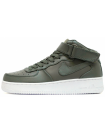 Кроссовки Nike Air Force 1 Mid Leather Khaki